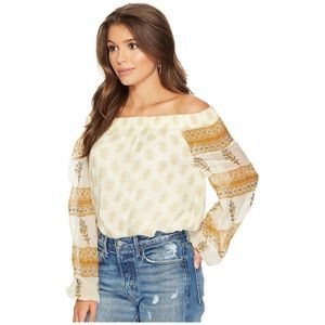 NEW JEN'S PIRATE BOOTY Indus Off The Shoulder Top